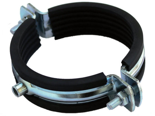 Heavy duty pipe clamps (from 108 to 625mm) Type 410